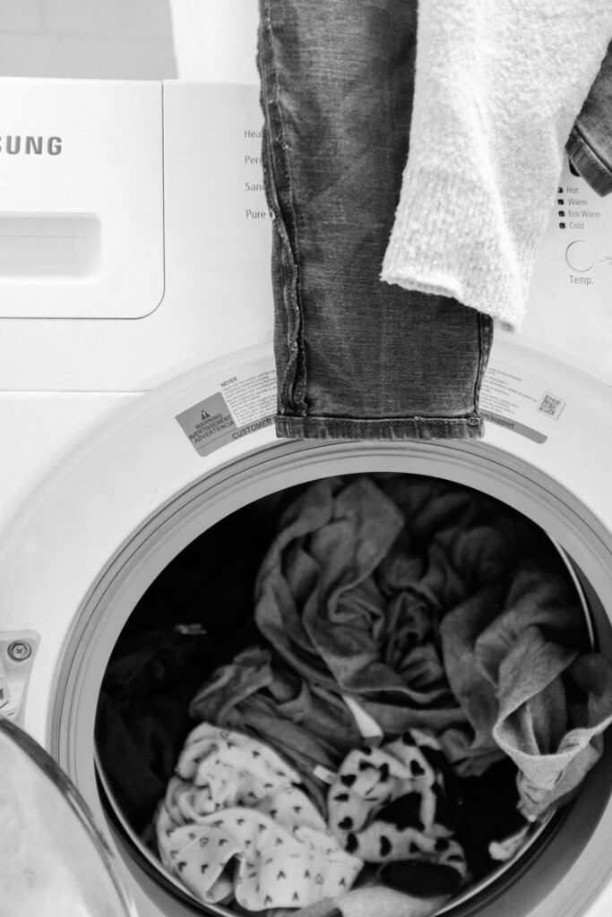 Dryers put out a lot of dust - clean your dryer vents often