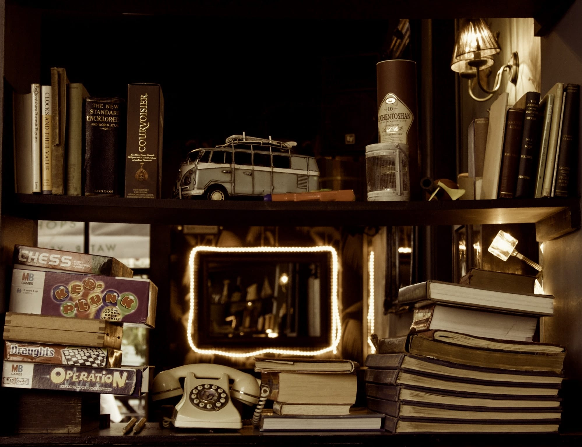 Bookshelves-and-collections-of-knick-knacks-are-dust-magnets