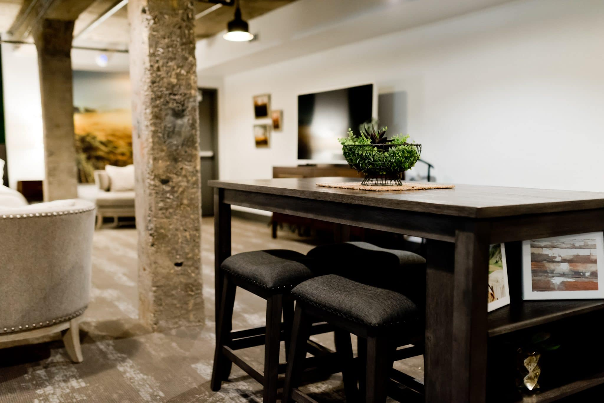 Dining-area-with-fine-wood-and-stone-furniture-and-floors-need-specialized-cleaning-methods