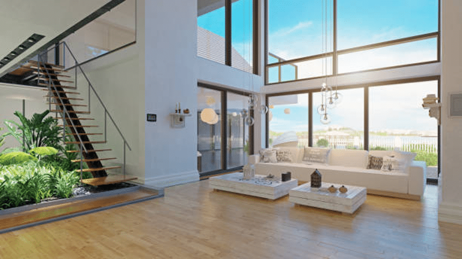 light-sunny-open-plan-living-room-big-windows-bay-view