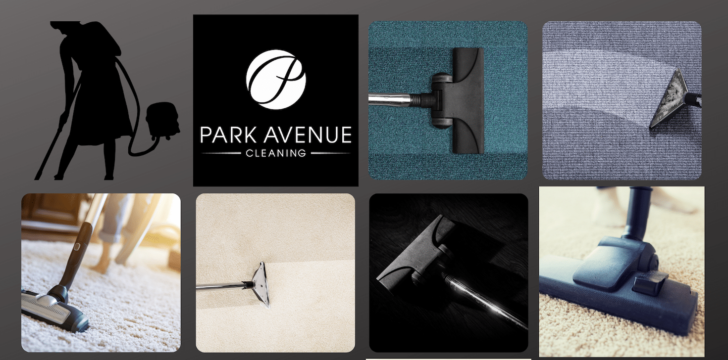vacuum cleaner photo collage - Park Avenue Cleaning