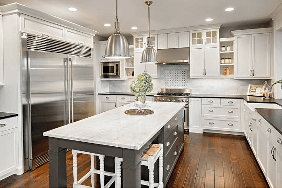 Listing-clean-real-estate-cleaning-service-gets-this-luxury-white-and-stainless-steel-kitchen-spotless