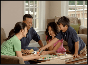 family-playing-board-games